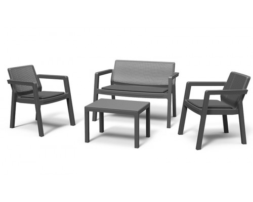 Комплект мебели Emily Patio Set with cushions